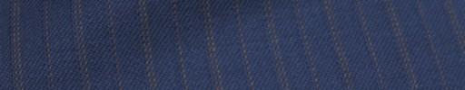 【Ckb_w183】ライトネイビー+1.3cm巾ブラウン交互ストライプ