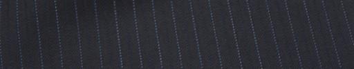 【Cu_6w03】ネイビー+6ミリ巾ブルー・織り交互ストライプ