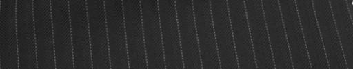 【Cu_6w24】黒ヘリンボーン+6ミリ巾白ストライプ