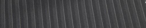 【Cu_6w25】グレーヘリンボーン+6ミリ巾白ストライプ