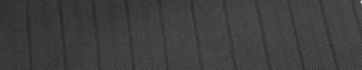【Cu_6w28】ミディアムグレー柄+1.1cm巾織り交互ストライプ