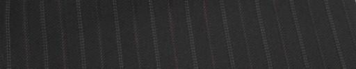 【Cu_6w29】黒柄+1.3cm巾パープル・白Wドット交互ストライプ
