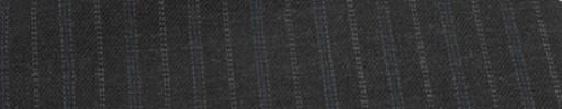 【Cu_6w34】チャコールグレー+1.5cm巾ブルー・ブルーグレー交互ストライプ