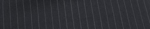 【Cu_6w39】ダークネイビーヘリンボーン+6ミリ巾白ストライプ