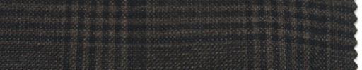 【P_6w50】ダークブラウン+7×6cmファンシーチェック