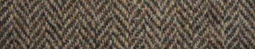 【Ht_6w346】赤茶グリーンミックス1.6cm巾ヘリンボーン