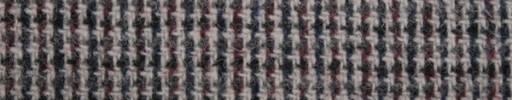 【Ht_6w352】ダークネイビー×ダークレッド×白織りチェック
