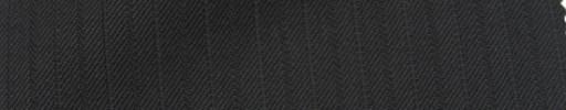 【Ie_6w008】ブラック+9ミリ巾織り交互ストライプ