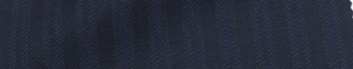 【Ie_6w009】ネイビー柄+1cm巾ブルーストライプ