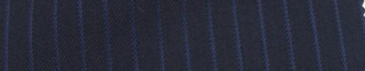 【Ie_6w010】ネイビー+6ミリ巾ブルーストライプ