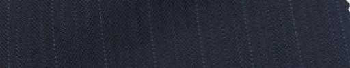 【Ie_6w012】ネイビー柄+1.3cm巾白ドットストライプ