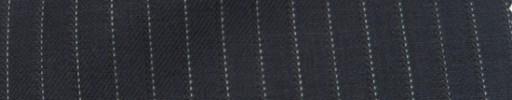 【Ie_6w014】ネイビー+6ミリ巾織り・ドットストライプ