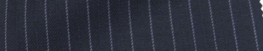 【Ie_6w020】ネイビー柄+6ミリ巾ライトブルーストライプ