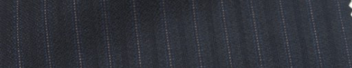 【Ie_6w022】ダークネイビー柄+8ミリ巾織り・ピンクドット交互ストライプ