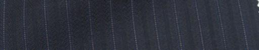 【Ie_6w023】ネイビー柄+8ミリ巾織り・ピンクドット交互ストライプ