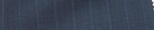 【Ie_6w035】ブルーグレー+1cm巾ストライプ