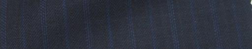 【Ie_6w037】ネイビー柄+1.7cm巾ブルー・ドット交互ストライプ