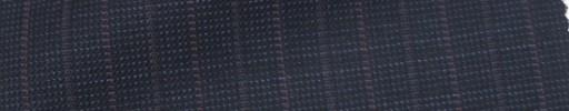 【Ie_6w038】ダークブルーグレーピンチェック+1.4cm巾赤・グレー交互ストライプ
