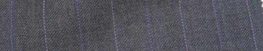 【Ie_6w042】ブラウングレー+2.4cm巾パープル・ピンク交互ストライプ