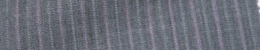 【Ie_6w043】ライトグレー+8ミリ巾ピンク・ドット交互ストライプ