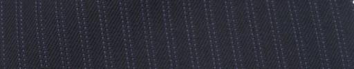 【Ie_6w047】ネイビー柄+5ミリ巾パープルストライプ