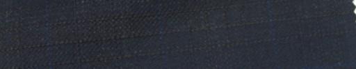 【Ie_6w085】ネイビーファンシー黒織りプレイド+3.5×3cmブルーウィンドウペーン