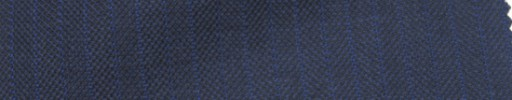 【Ie_6w092】ライトネイビー柄+1cm巾ブルー交互ストライプ