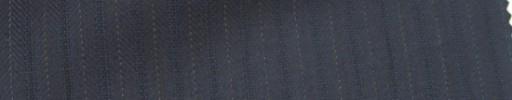 【Ie_6w114】ネイビーヘリンボーン+6ミリ巾織りストライプ