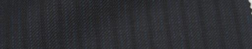【Ie_6w118】ダークブルーグレー+6ミリ巾ブルー・織り交互ストライプ