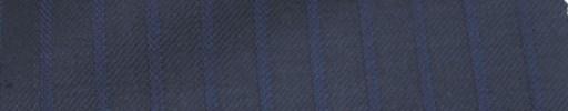 【Ie_6w122】ネイビー+9ミリ巾パープルストライプ