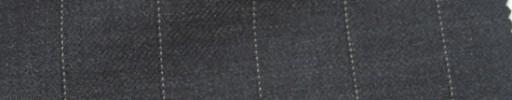 【Ie_6w126】チャコールグレー+1.8cm巾ストライプ