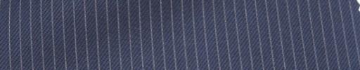 【Ie_6w133】ネイビー+3ミリ巾白ストライプ