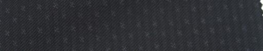 【Ie_6w134】ブラック+2ミリ巾ファンシードットストライプ