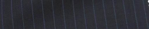 【Ie_6w153】ブラック+6ミリ巾ブルーストライプ