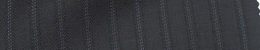 【Ie_6w192】ダークネイビー+8ミリ巾ドット織りストライプ