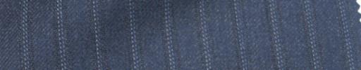 【Ie_6w193】ブルーグレー+8ミリ巾ドット織りストライプ