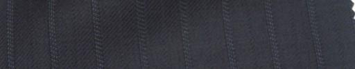 【Ie_6w195】ダークブルーグレー+1.1cm巾織り交互ストライプ