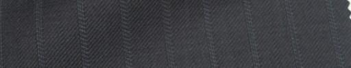 【Ie_6w196】ダークグレー+1.1cm巾織り交互ストライプ