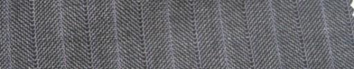 【Ie_6w203】グレーヘリンボーン+1.4cm巾ライトパープルストライプ