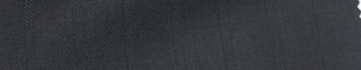 【Ie_6w204】ブラック+1.3cm巾織りストライプ