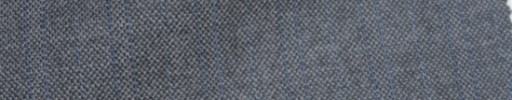 【Ie_6w216】ライトグレー地+1.5cm巾ブルーWストライプ
