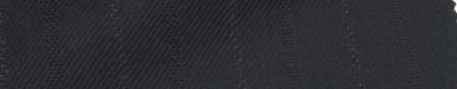 【Ie_6w219】黒柄+2.4cm巾パープル・織り交互ストライプ