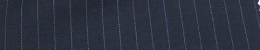 【Mc_6w12】ネイビー+8ミリ巾ブルー・織りストライプ