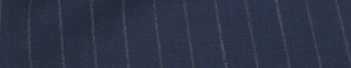 【Mc_6w18】ライトネイビー+1.1cm巾ストライプ