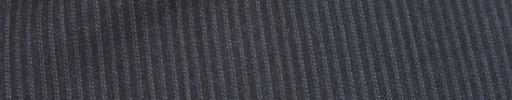【Mc_6w24】チャコーグレー+2ミリ巾白・ブルードットストライプ