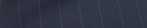 【Mc_6w27】ネイビー柄+1.7cm巾ブルーストライプ