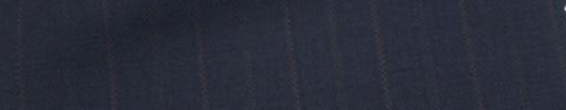 【Mc_6w43】ネイビー+2cm巾ブラウン・織り交互ストライプ