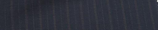 【Mc_6w47】ネイビー柄+1.1cm巾ブラウン・ドット交互ストライプ