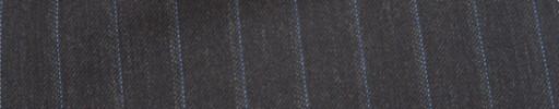 【Mc_6w67】ブラウン+1.5cm巾ライトブルー・ドットストライプ