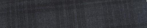 【Mc_6w72】チャコールグレー+5×4.5cm黒ファンシーチェック